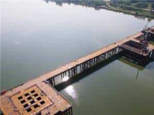 浠水河特大桥将横空出世,长5275米!顶起!