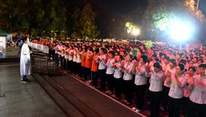 天立元购物广场开展消防安全应急疏散演练活动