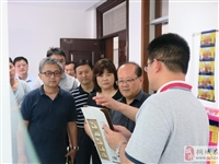 涂县委宣传部组队来桐考察文旅产业发展