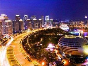 安庆的夜景