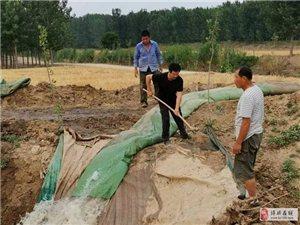 抗旱保灌溉 �嗡�在行��