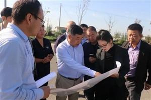 省政协常委宋凤山一行来经开区交流对接项目选址事宜