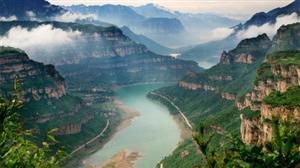 多情太行七彩峡谷,林州太行大峡谷精美二日游