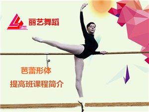 芭蕾形体提高班