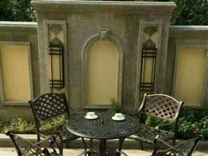 休闲铝铸桌椅