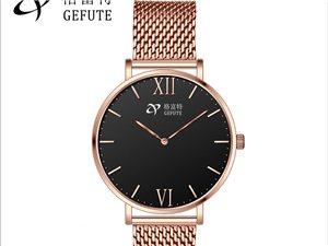一件代发品牌格富特时尚休闲男士腕表代理批发防水蓝宝石手表