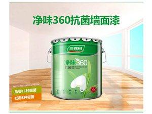 健康+净味360抗菌墙面漆15L