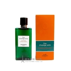 法国Hermes爱马仕橘绿之泉二合一双效洗发香水沐浴露清新2