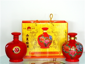 西夏国酒(2斤装瓷坛)