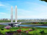 裕溪?#20248;?#20256;喜讯!巢湖又一座跨河大桥工程完成过半!