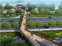 仁寿大道从皇家名邸到下面高速路口车博城能否考虑修建几座人行天桥???