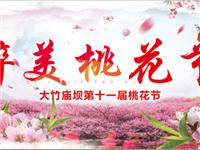 18.8元抢购原价30元大竹庙坝桃花旅游节门票