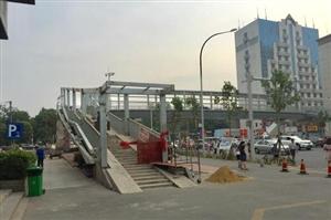 注意!荆门中天街新天桥又有新动作了