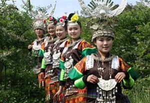 麻江县内古老而神秘的民族――苗族