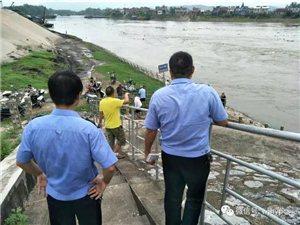 华阳所联合华阳闸管所开展华阳闸水域安全防范工作