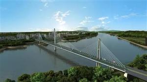 世界最大的三塔式公轨两用斜拉桥 泸州长江六桥主桥开始施工