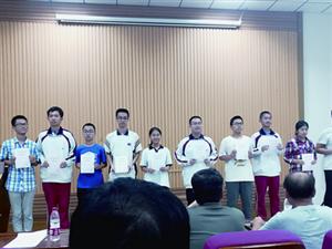 广饶一中有8名学生获全国中学生物理竞赛山东赛区复赛一等奖