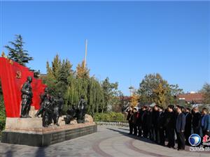市直驻东营区工作队到广饶县刘集村上主题党课