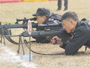 全省鄂西南片区公安特巡警比武竞赛在荆门举行