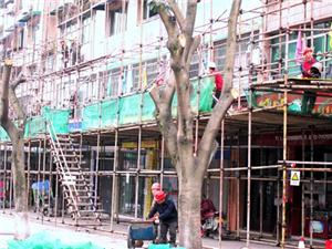 富顺县对城区主要通道北湖南路进行特色街道打造