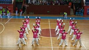 """""""七彩云南,舞动盐都""""广场舞大赛之西湖健康太极队"""