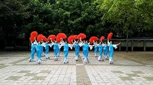 """""""七彩云南,舞动盐都""""广场舞大赛之优雅舞蹈队"""