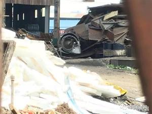 今天上午,宜宾一废旧回收公司发生爆炸,已致一人死亡!