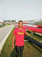 泸州小伙龙航获全国皮划艇静水青年U18锦标赛铜牌