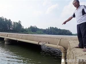 女子连人带车翻入河中