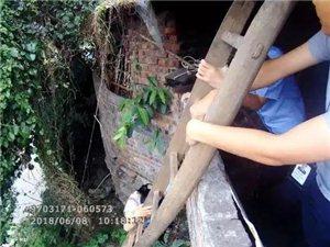 泸县牛滩镇老街女子涉嫌卖淫逃跑被困,警方解救后将其控制