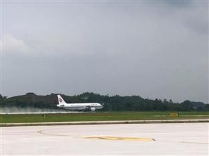 今日,泸州云龙机场试飞!离通航更近一步!