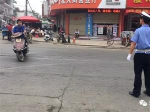 开展非机动车行人交通违法专项整治工作,c07彩票交警一直在行动