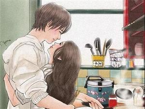 朋友圈超幸福漫画:两个人在一起最舒服的状态