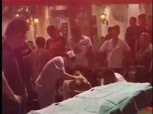 7月16日晚,关于众鑫烧烤门口杀人视频谣传的说明