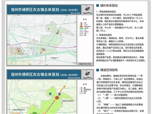 宿州市��桥区朱仙庄镇/桃园镇/灰谷镇(2016-2030年)总体规划曝光