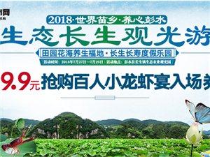 7.27长生镇举办龙虾宴,百份小龙虾
