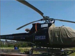 """和平惊现""""直升飞机"""",据说老板用来打农药"""