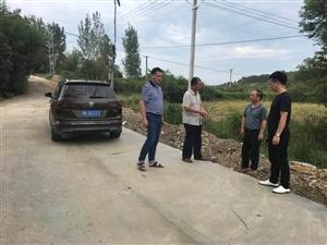 美丽乡村建设——洑水镇文武道路升级改造工程