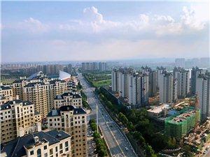 华尔街大厦拍到的新郑北区