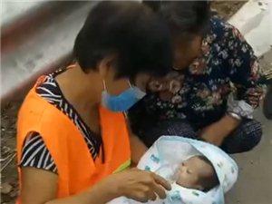 平邑地方镇发现一婴儿!民警紧急将其送往福利院
