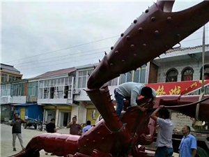 盛源彩票三流龙虾交易市场的雕塑,增收脱贫都全靠它了!