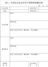 关于望江县开展秋季安全生产大检查的通知