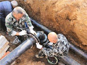龙8国际市未来城二期供水管网工程圆满竣工