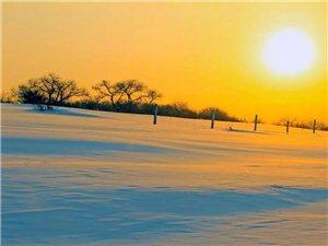�|北的雪景