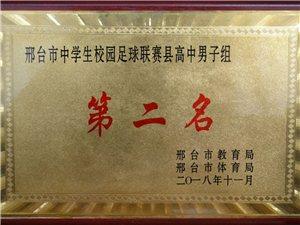 热烈祝贺临西实验中学荣获邢台市中学生校园足球联赛第二名