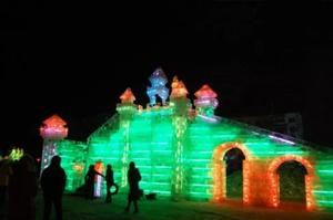 龙沙公园的冰灯真是美~今年要约起么