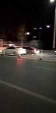 冀州冀新西路与金鸡大街交叉口大堵车啊!