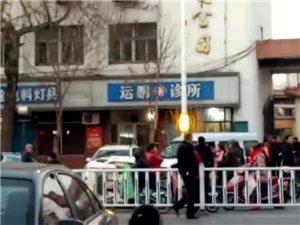 今天傍晚在冀州冀新路与长乐街交叉口发生一起交通事故