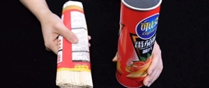 薯片桶不要扔,把面条放在里面,解决了一个大难题,一年能省不少钱!