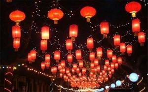 今年元宵节龙泉公园猜灯谜